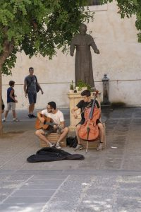 Sorrento town - Main streets and music