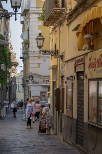 Sorrento town - side streets